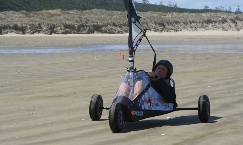 "Dave ""Orca"" Bush, on 90 Mile Beach 2009"